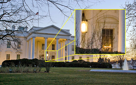 White House - Low Light with a Nikon D90