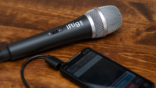 iRig mic with HTC Evo 4G LTE