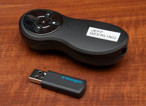 Kensington Wireless Presenter Remote with Laser Pointer - USB