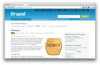 Honeypot project page on drupal.org